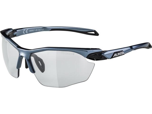 Alpina Twist Five HR VL+ Okulary rowerowe, tin-black